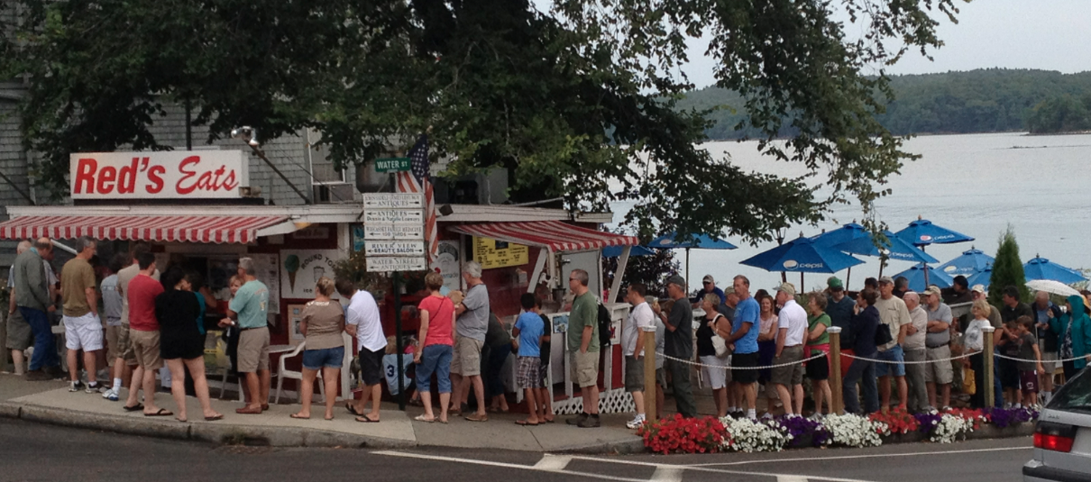 """Profile: """"RED'S EATS"""" in Wiscasset, ME 