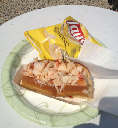 Rye Harbor Lobster Pound Lobster Roll