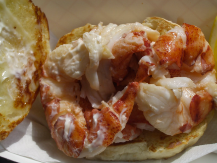 The Clam Shack Lobster Roll