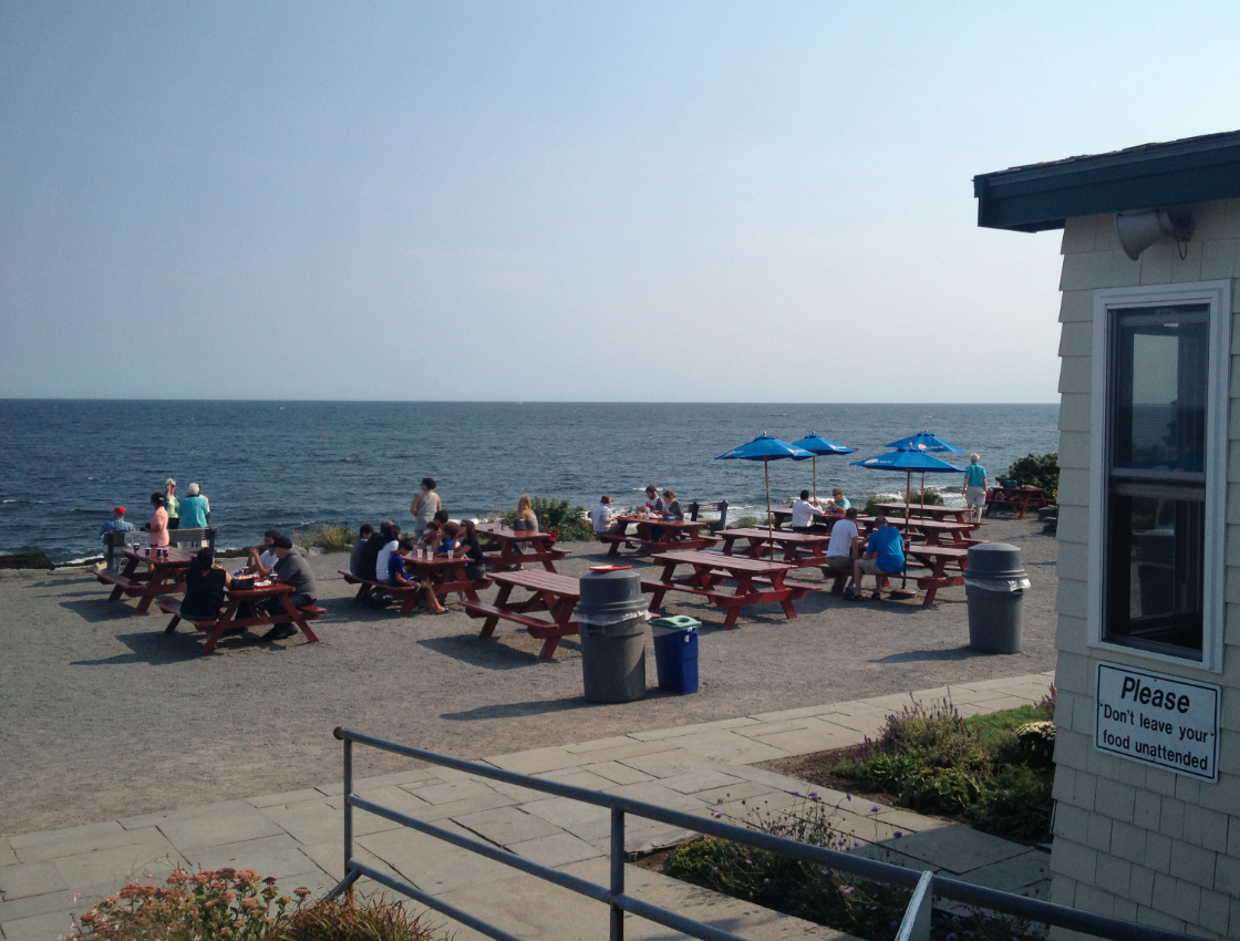 "Profile: ""THE LOBSTER SHACK AT TWO LIGHTS"" in Cape Elizabeth, ME 
