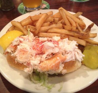 Three Cod Tavern Lobster Roll