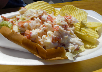 Shaw's Lobster Roll