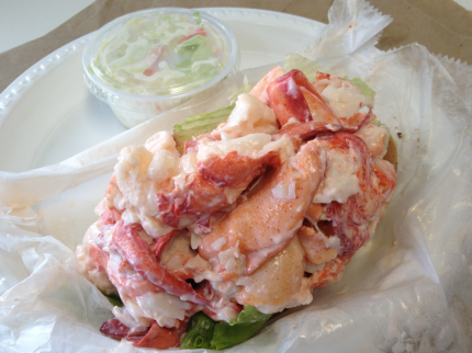 Belle Island Lobster Roll
