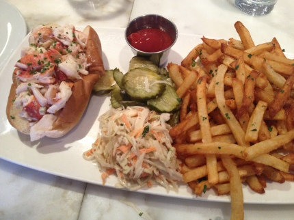 B&G Oysters Lobster Roll