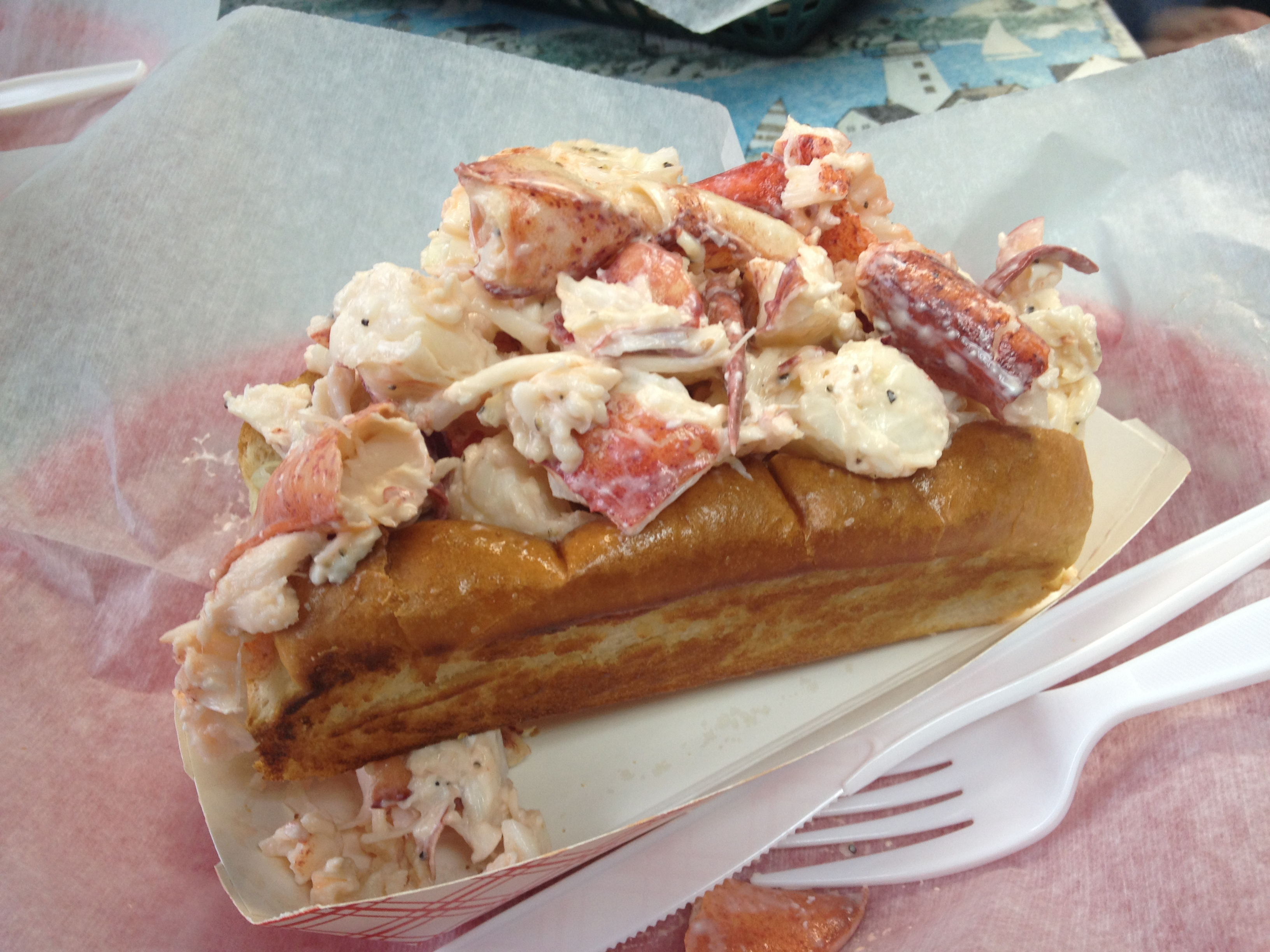 The lobster roll chronicles 2012 year in review lobster roll