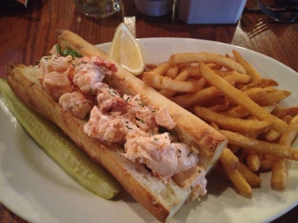 Old Port Tavern Lobster Roll