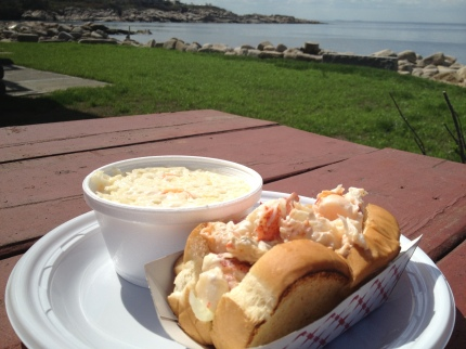 The Lobster Pool Lobster Roll