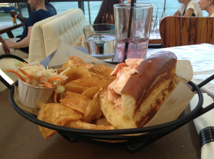 Legal Harborside Lobster Roll