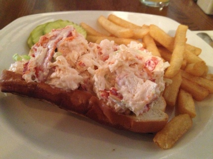 The Warren Tavern Lobster Roll